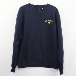 90s Mens Medium Michigan Wolverines Sweatshirt
